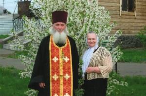Отец Владимир с матушкой Маргаритой
